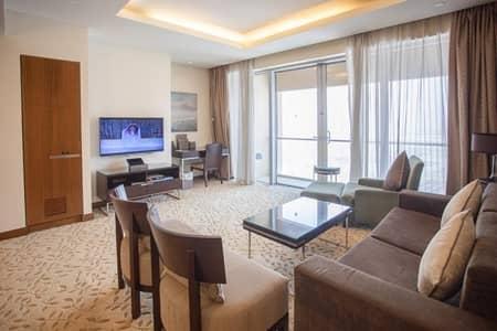 شقة فندقية 1 غرفة نوم للايجار في وسط مدينة دبي، دبي - Super Luxury 1BR Hotel Apt |Fully Furnished Vacant