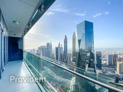 شقة 1 غرفة نوم للبيع في مركز دبي المالي العالمي، دبي - High Floor | Ocean Views | Large Balcony