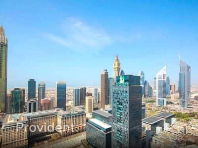 فلیٹ 3 غرف نوم للبيع في مركز دبي المالي العالمي، دبي - Stunning Views | Upscale | Modern Living