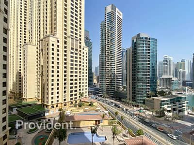 1 Bedroom Flat for Rent in Jumeirah Beach Residence (JBR), Dubai - Live On The Beach | Biggest One Bedroom