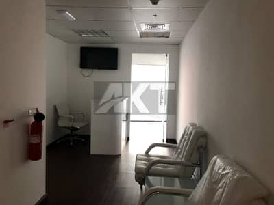 55 K / Ready office / Partial Canal View / Fully Furnished / Business Bay