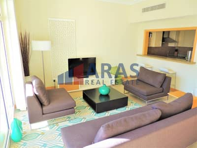 2 Bedroom Apartment for Rent in Palm Jumeirah, Dubai - Private Beach | 30 Days Free Rent | Maid Room