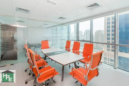 Fully Furnished | Glass Partitions | 2 Parkings