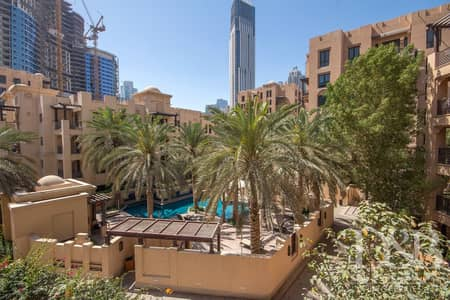 2 Bedroom Flat for Rent in Old Town, Dubai - Pool View | Spacious Layout | Chiller Free