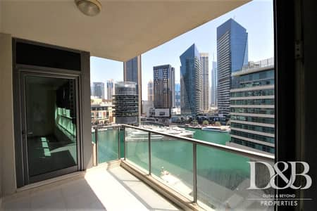 2 Bedroom Apartment for Rent in Dubai Marina, Dubai - Chiller Free | Marina Views | Great Location