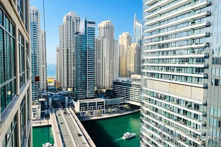 2 Bedroom Flat for Sale in Dubai Marina, Dubai - Two Bed + Study | Upgraded | Marina View