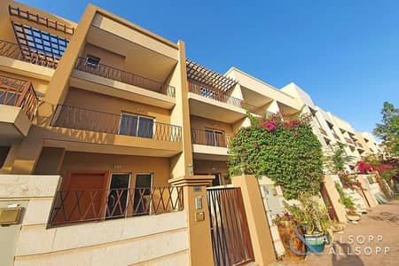 3 Bedroom Townhouse for Sale in Jumeirah Village Circle (JVC), Dubai - 3 Beds Plus Maid's | Vacant | Roof Terrace