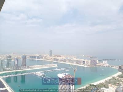 فلیٹ 1 غرفة نوم للبيع في دبي مارينا، دبي - VACANT| HIGHER FLOOR |DEMANDED LAYOUT | SEA VIEW