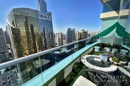 3 Bedroom Apartment for Rent in Jumeirah Lake Towers (JLT), Dubai - 3 Bed Duplex | Cinema Room | Lake View
