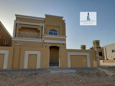 6 Bedroom Villa for Sale in Al Mowaihat, Ajman - Wonderful modern design villa big built up area stone for sale