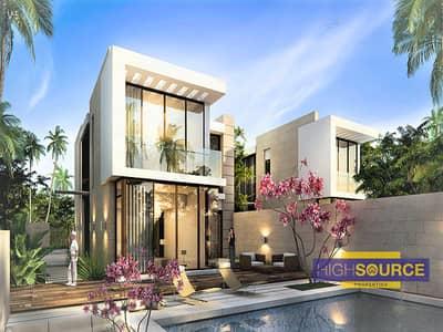 فیلا 3 غرف نوم للبيع في داماك هيلز (أكويا من داماك)، دبي - Ready to move Furnished 3 Bed Fendi Styled Villas with an Easy Payment Plan at Damac Hills
