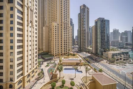 1 Bedroom Apartment for Sale in Jumeirah Beach Residence (JBR), Dubai - Semi-closed kitchen | Unfurnished | Spacious