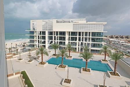 3 Bedroom Flat for Rent in Saadiyat Island, Abu Dhabi - Vacant! Full Sea View Unit with Secured Parking