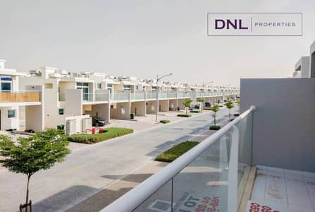 3 Bedroom Townhouse for Rent in Akoya Oxygen, Dubai - Brand New Townhouse | community view | Inquire now