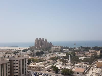 2 Bedroom Flat for Rent in Al Sawan, Ajman - 2 Bhk Ajman One Towers Close Kitchen and full sea view