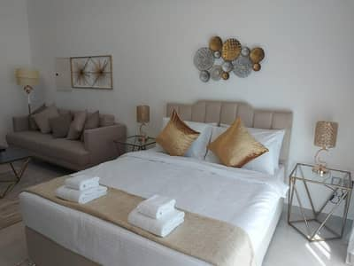 Studio for Rent in Jumeirah Village Circle (JVC), Dubai - Brand New Studio/ Furnished/Kitchen Appliances/Balcony