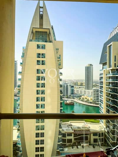 شقة 2 غرفة نوم للبيع في جميرا بيتش ريزيدنس، دبي - EG |Marina and sea view 2 bedroom for sale in Shams 2