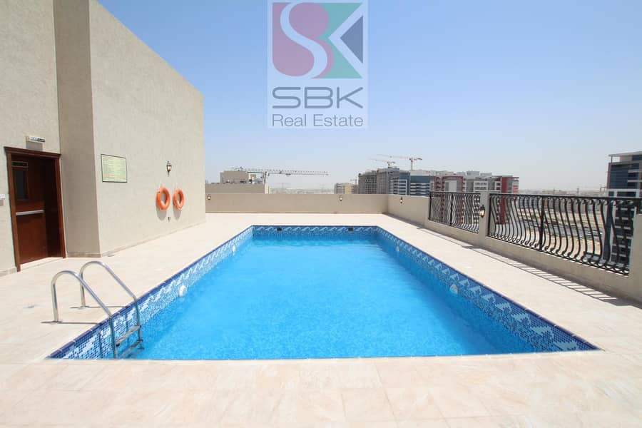 10 Spacious 1 bhk available in Nad Al  Hamer