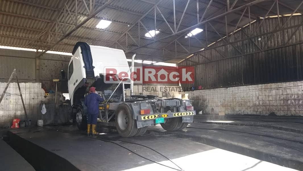 2 000 Sqft Open Land Suitable for Garage In Ras Al Khor