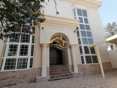 7 Bedroom Villa for Rent in Al Rawdah, Abu Dhabi - Luxurious Stand Alone with Huge Parking Spaces and Front Yard