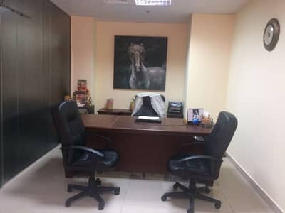 Office for Rent in Business Bay, Dubai - Fully Furnished | Canal View | Bath+Pantry | 4 Cheques