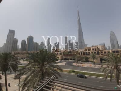 2 Bedroom Apartment for Rent in Old Town, Dubai - SM | Burj Khalifa View | 2 Bed+Hall