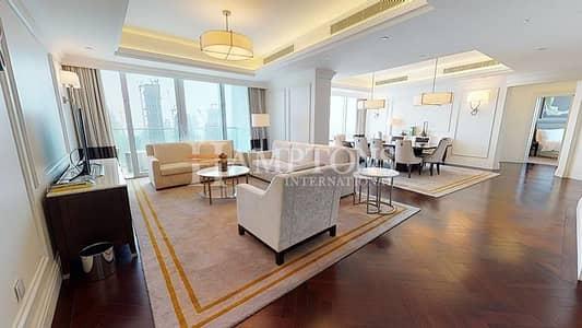فلیٹ 4 غرف نوم للبيع في وسط مدينة دبي، دبي - 4BR| The Address BLVD |Burj Khalifa View
