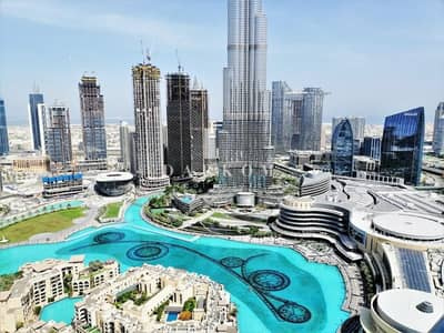 2 Bedroom Flat for Sale in Downtown Dubai, Dubai - Live in Luxury and Elegance | 2BR | Full Burj Khalifa and Fountain View | High Floor