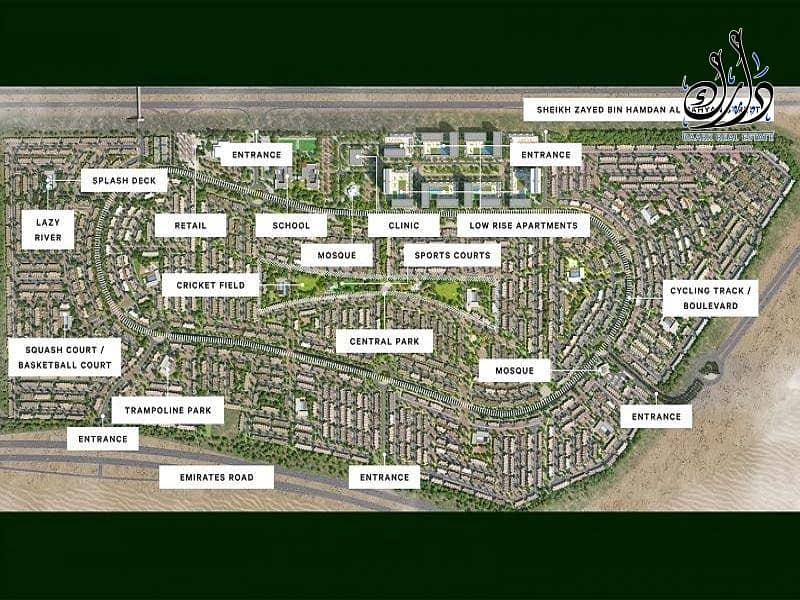 21 OWN YOUR VILLA  3BR +MAID | GREEN COMMUNITY| BEST PRICE | 5 YEAR PAYMENT PLAN BY EMAAR