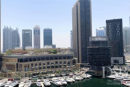 شقة 1 غرفة نوم للايجار في دبي مارينا، دبي - Full Marina View | Spacious | Well Maintained