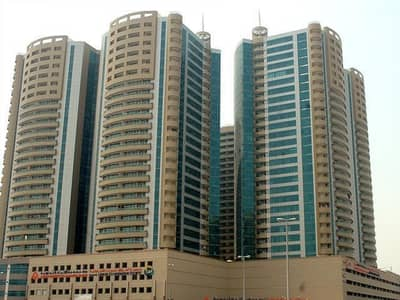 1 Bedroom Apartment for Rent in Ajman Downtown, Ajman - 1BHK in Horizon tower for rent 1287sqft or 1436sqft in ajman