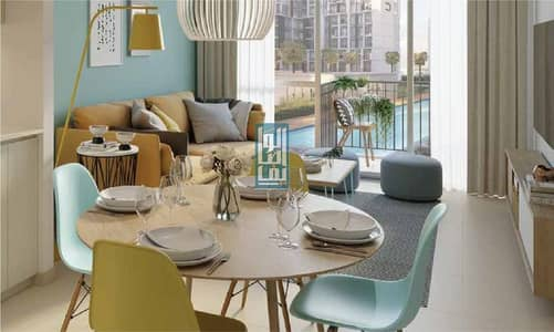 فلیٹ 1 غرفة نوم للبيع في تاون سكوير، دبي - ready to move now with amazing payment plan pay 10% and receive the key
