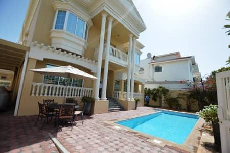 فیلا 5 غرف نوم للايجار في أم سقیم، دبي - 5BR Villa available with Pool In heart of Jumeirah