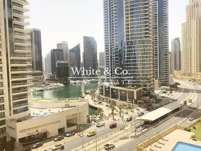 شقة 3 غرف نوم للايجار في جميرا بيتش ريزيدنس، دبي - Full Marina View | Exclusive | Low Floor