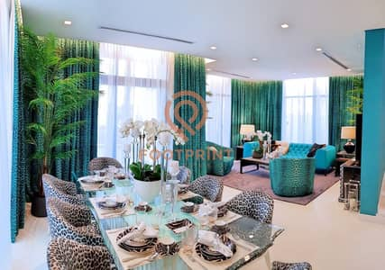3 Bedroom Townhouse for Sale in Akoya Oxygen, Dubai - Cavalli Branded Living With DAMAC Quality   Golf Course Views