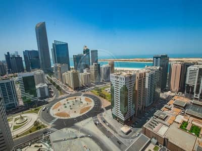 2 Bedroom Flat for Rent in Corniche Area, Abu Dhabi - Spectacular Views | Naturally Light Rooms