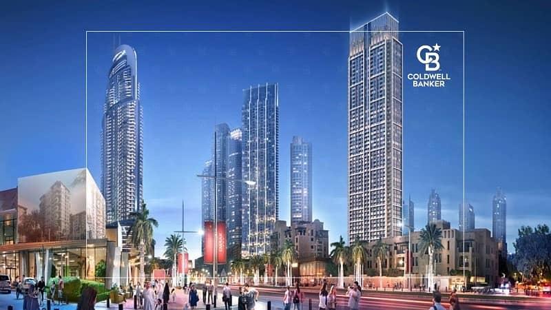 10 Burj Royale | high floor | Prime Location