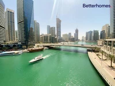 فلیٹ 3 غرف نوم للايجار في دبي مارينا، دبي - Bird's Eye Marina View - Vacant Now - Plus Maids