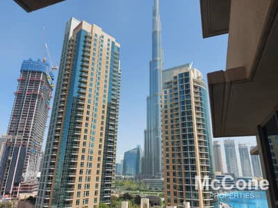 شقة 2 غرفة نوم للبيع في وسط مدينة دبي، دبي - Luxurious Finish | Furnished | Burj Khalifa View
