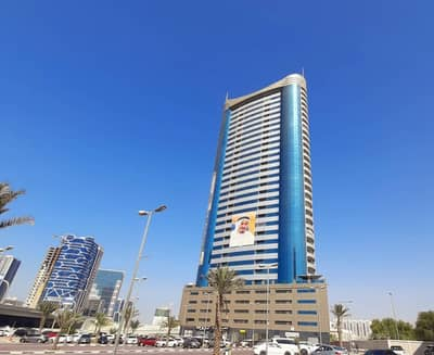 2 Bedroom Flat for Rent in Sheikh Maktoum Bin Rashid Street, Ajman - Spacious 2Bhk Available for rent in Conqueror tower  40k