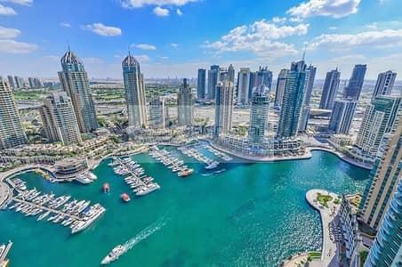 فلیٹ 2 غرفة نوم للبيع في دبي مارينا، دبي - Huge 2BR | 2Parking | Full Marina View | Must See