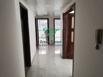 فلیٹ 2 غرفة نوم للايجار في شارع ليوا، أبوظبي - hot offer 6 payments !! Two bed room along balcony