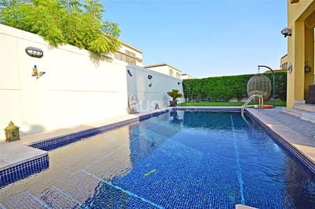 فیلا 3 غرف نوم للايجار في جميرا بارك، دبي - End of May | Private Pool | Corner Unit