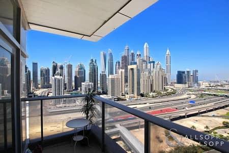 شقة 2 غرفة نوم للبيع في أبراج بحيرات الجميرا، دبي - Marina Skyline View | Rented | Best Layout