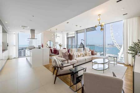 3 Bedroom Apartment for Sale in Bluewaters Island, Dubai - Exclusive Property With Outstanding View