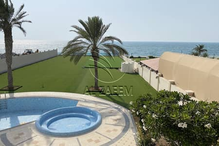 5 Bedroom Villa for Sale in Marina Village, Abu Dhabi - ? Exclusive | Luxurious Full Seaview | Huge Plot ?