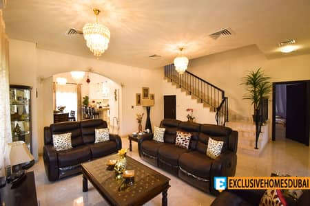 5 Bedroom Villa for Rent in The Villa, Dubai - Highly Upgraded | 5bed + Maid | Park View