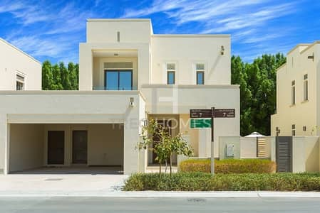 فیلا 4 غرف نوم للبيع في المرابع العربية 2، دبي - Single Row | Tree Line Backing | 4Beds+Maid