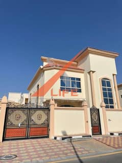 villa for sale in the best areas of Ajman, personal finishing FREE HOLD