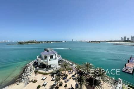 فلیٹ 1 غرفة نوم للبيع في نخلة جميرا، دبي - Vacan | Incredible Sea View | Large layout